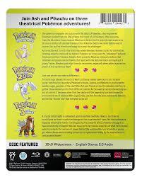 100 Blu Home Video Pokemon 13 Movie Collection Ray Amazonca Various DVD