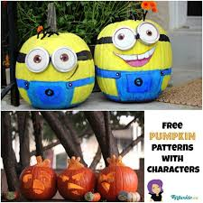 Minion Carved Pumpkins by 16 Easy Pumpkin Carving Ideas Tip Junkie
