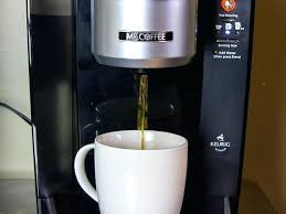 Mr Coffee Single Cup Brewing System K 4 Maker