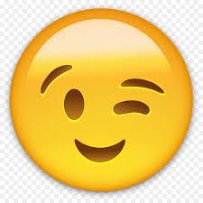 Smiley Emoticon Wink WhatsApp Clip Art