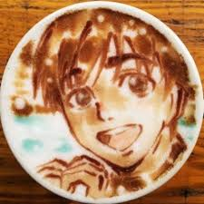 Anime Latte Art BELCORNO