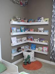 Wide Ledges Bookshelves For A Reading Nook