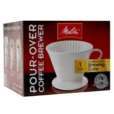 Melitta Coffee Brewer 2 Pour Over Porcelain