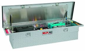 Delta Pro Pac1357000 Aluminum Single Lid Low Profile Full Size ... Low Profile Truck Tool Box Boxes Highway Products Craftsman Alinum Profile Full Size Single Lid Crossover Protech Toolbox Wwwtopsimagescom Lund 70inch Cross Bed Husky Model Thd70lp Lot 1892 On Popscreen 1215201 Weather Guard Us Saddle 88 Cu Ft Kobalt 56in At Lowescom Side Decked Storage Organizers And Cargo Van Systems