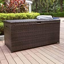 interior rubbermaid patio chicâ gallon resin deck box reviews