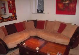 canap d angle bois et chiffon canapé d angle bois et chiffons meubles décoration canapés à vitry