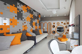 Teenage Boy Bedroom With Alluring Wall Designs For Boys