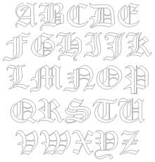 Old English Style Font