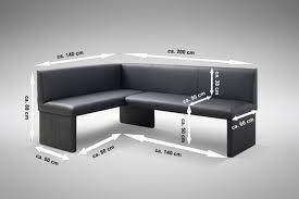 design eckbank otto modern kunstleder schwarz rechts