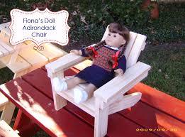 Ana White Childs Adirondack Chair by Ana White Fiona U0027s Doll Adirondack Chair Diy Projects