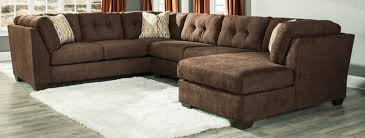 Corduroy Sectional Sofa Ashley by Chocolate Brown Sectional Sofa With Chaise Fjellkjeden Net