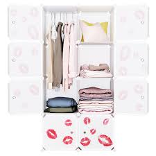 MultipleCube Colorful DIY Closet Wardrobe Clothes Rack Organizer