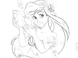Disney Princess Coloring Pages Rapunzel Free For Tangled Colouring Book Games Prince