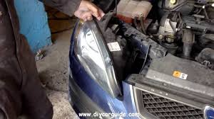 ford focus headlight removal 2nd generation 2005 2011 models