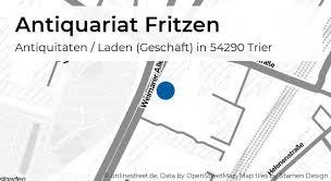 antiquariat fritzen ostallee in trier innenstadt