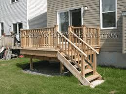 Deck Stair Handrail Ideas