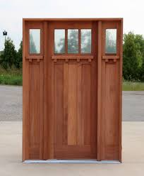 Custom Wood Front Entry Doors Wooden Door With Beveled Glass And