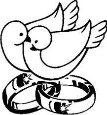 Wedding Rings Doves PAR 151 FULL