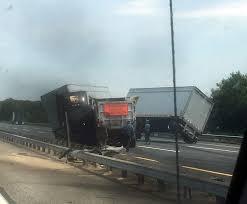 100 Local Dump Truck Jobs Turnpike Lanes Shut Down UPS Truck Dump Truck Collide