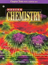 modern chemistry chapter tests with answer key book by holt
