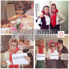 Mrs Doyle Hen Party Wedding Inspiration Hens Party