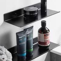 duschablage selbstklebend duschregal ohne bohren badregal anthrazit badablage zum kleben wandablage bad regal für badezimmer