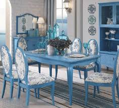 Blue Dining Room Chairs For Bold Interior Lovers