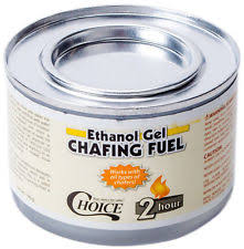 Sterno Candle Lamp Company by 2 Sterno Chafing Dish Ethanol Gel Fondue Fuel Biodegradable 1 Lb