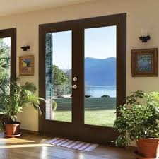 Masonite Patio Doors With Mini Blinds by Vsg Clear Lrg Masonite Patio Doors Twinkle