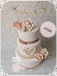 Simple But Sweet Mr And Mrs Wedding Cake Topper Bunting
