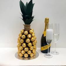 Ferrero Rocher Christmas Tree Diy by Prosecco Pineapple Prosecco Sweet Trees And Gift
