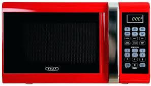 Emerson Microwave Walmart Red