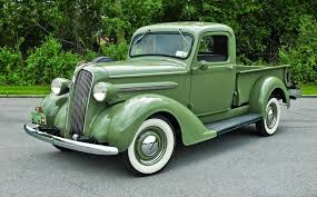 100 1937 Plymouth Truck Rams Reclusive Relative PT50 Pickups Panels