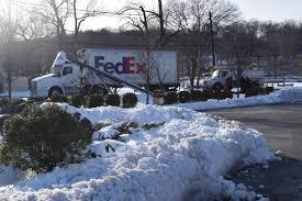 100 Truck Stores Pole Falls On FedEx Causing Power Outage At In Route