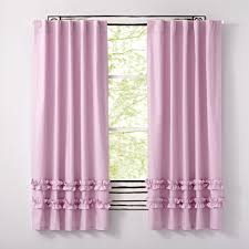 ruffle white 84 curtain the land of nod