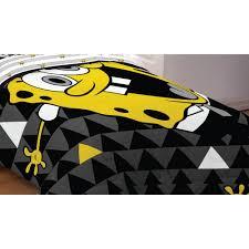 Spongebob Toddler Bedding by Spongebob Bedding Try Angle Comforter Nickelodeon Sheets