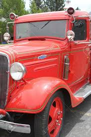 100 Ford Fire Truck Vintage Red