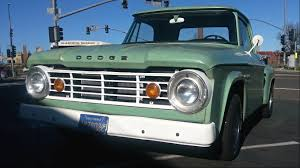 100 67 Dodge Truck Minty Fresh 19 D100 Step Side