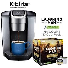Prime Members Keurig K Elite Coffee Maker W 44 Ct Laughing Man