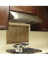amazing deal zephyr 48w in cache under cabinet range hood silver