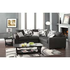 Sears Grey Sectional Sofa by Venetian Worldwide Cranbrook Charcoal Gray Sectional Sofa Made
