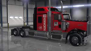 100 Southeastern Trucking SouthEastern Freight Lines Skin For SCS Kenworth W900 ATS Mods