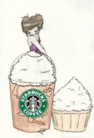 Cute Starbucks Drawings Frappuccino By