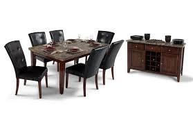 montibello 42 x 70 dining 8 piece set bob s discount furniture