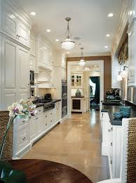 inspiring galley kitchen lighting with hanging ls 8331
