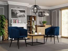 ein satz zweier moderner stühle archie 226
