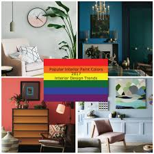 Popular Bedroom Paint Colors by Popular Interior Paint Colors 2017 Interior Design Trends