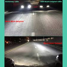 darkaway brightest car headlights h11 h8 h9 h7 h4 hb3 hb4 h27 880
