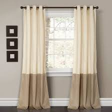 Lush Decor Serena Window Curtain by Ivory Ruffle Curtain Target