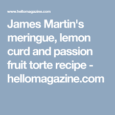 Christmas Tree Meringues James Martin by James Martin U0027s Meringue Lemon Curd And Passion Fruit Torte Recipe